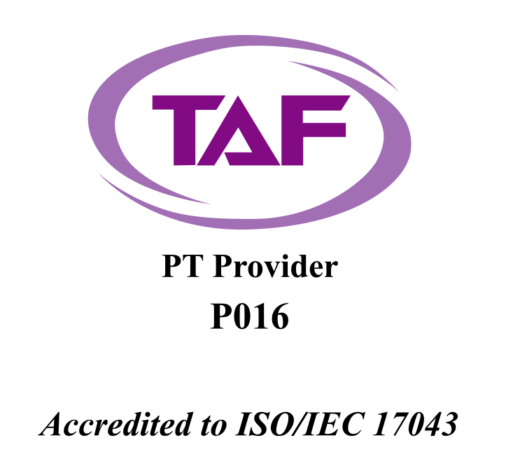 Accredited to ISO/IEC 17043
